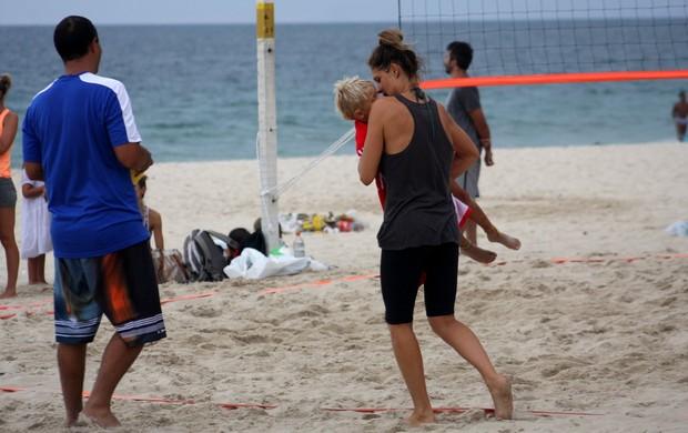 Fernanda Lima e Rodrigo Hilbert (Foto: JC Pereira/Fotorio News)