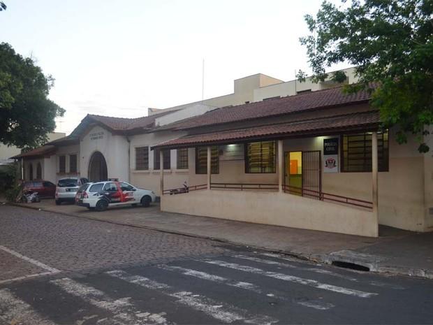 Atual 2º Distrito Policial de Ribeirão Preto (Foto: Adriano Oliveira/G1)