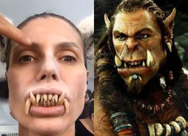 Fãs especulam que Heidi se vestirá de personagem do game Warcraft (Foto: Reprodução Instagram)