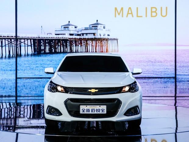 Novo Chevrolet Malibu para o mercado chinês (Foto: Divulgação )