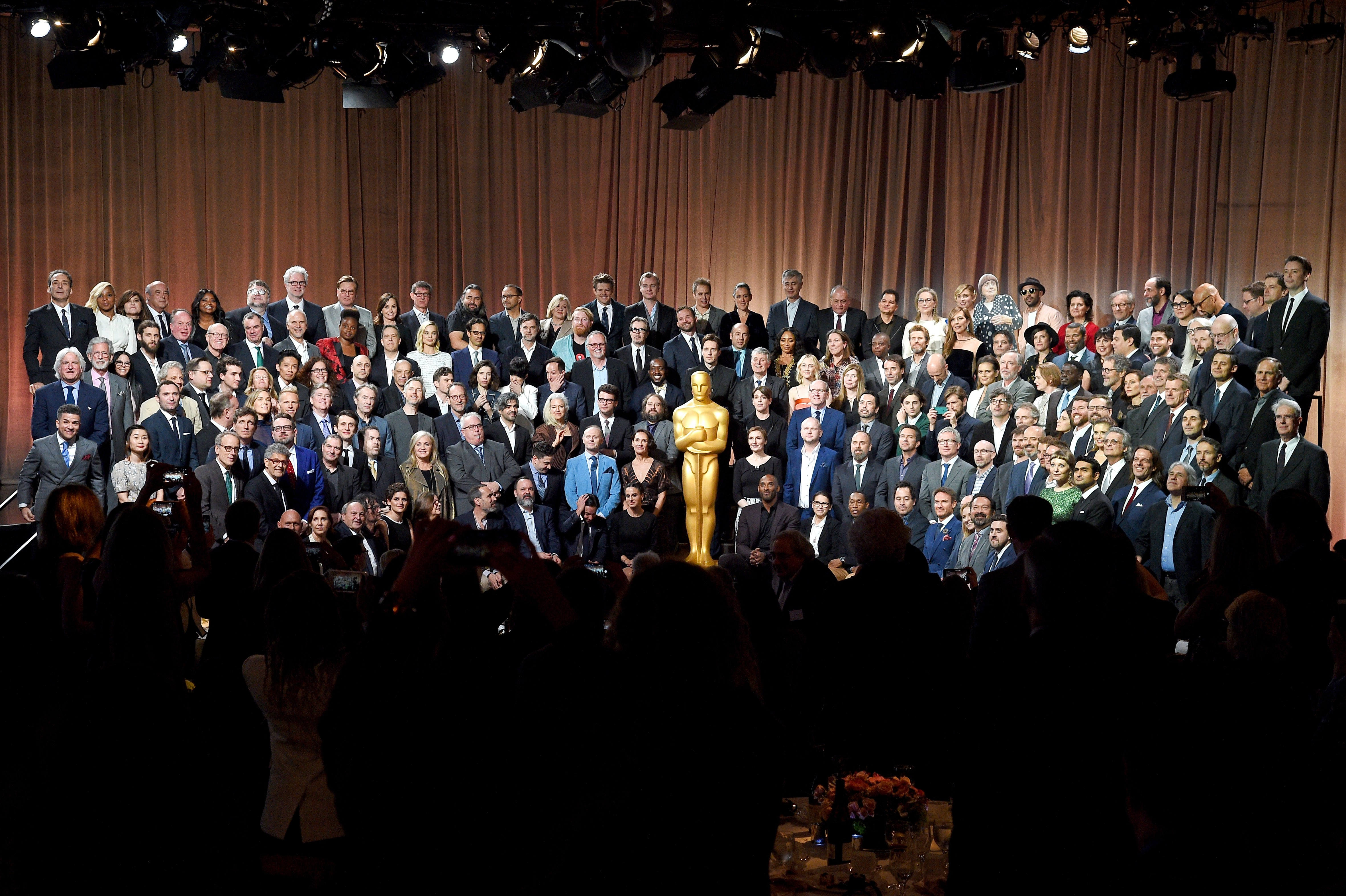 Indicados ao Oscar 2018 (Foto: Getty Images)