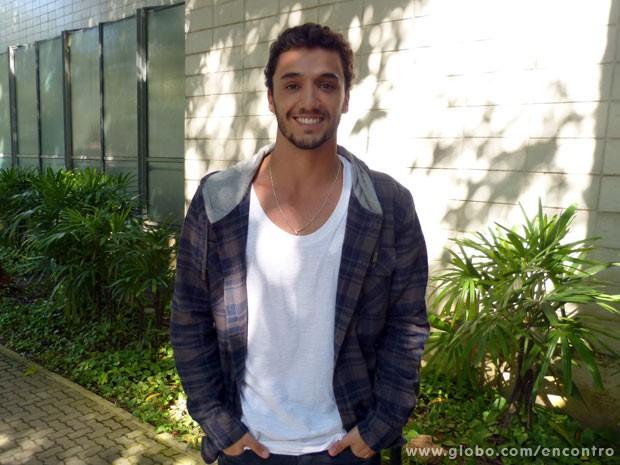 Pedro Cassiano (Foto: Encontro com Fátima Bernardes/TV Globo)