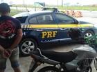 Homem é preso em São Miguel dos Campos com moto roubada em 2015