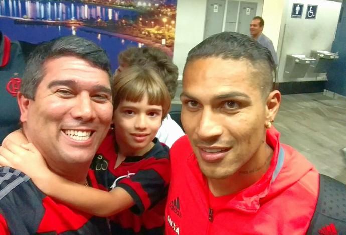 Flavio Daher, Guerrero, Flamengo (Foto: Arquivo Pessoal)