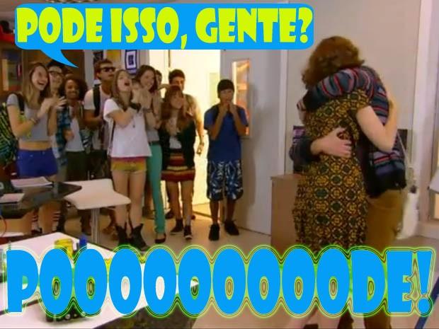 Leandro e Isabela no Quadrante (Foto: Malhação / TV Globo)