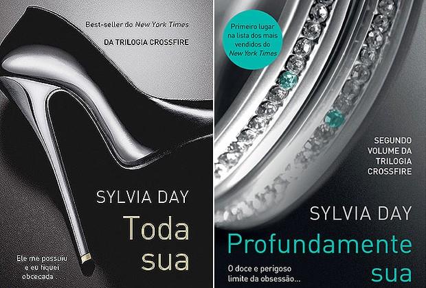 """""""Toda Sua"""" é o primeiro volume da trilogia. """"Profundamente Sua"""", o segundo livro da série, chega ao país no fim de novembro (Foto: Divulgação)"""