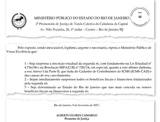 MP do Rio pede cassação das inscrições de três distribuidoras de combustíveis (Foto: Reprodução)