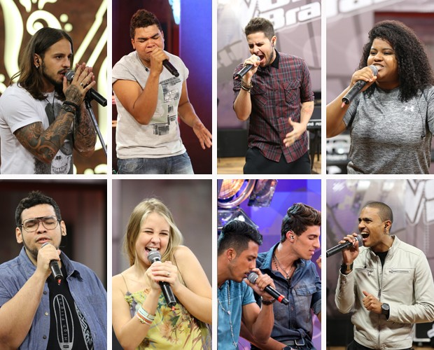 Semifinalistas The Voice (Foto: Gshow)