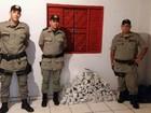 Seis são presos com mais de 100 kg de drogas em Aragarças, diz PM