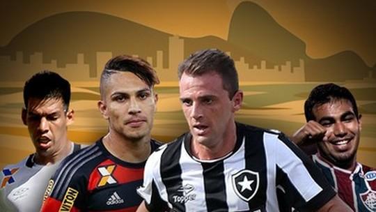 Montillo, Guerrero, Sornoza ou Julio dos Santos? Quiz define o gringo mais carioca