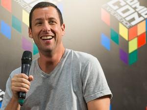 Adam Sandler divulga o filme 'The ridiculous six' na Comic Con Experience (Foto: Divulgação)