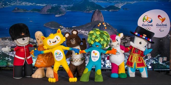 Mascotes Rio 2016 (Foto: Divulgação)