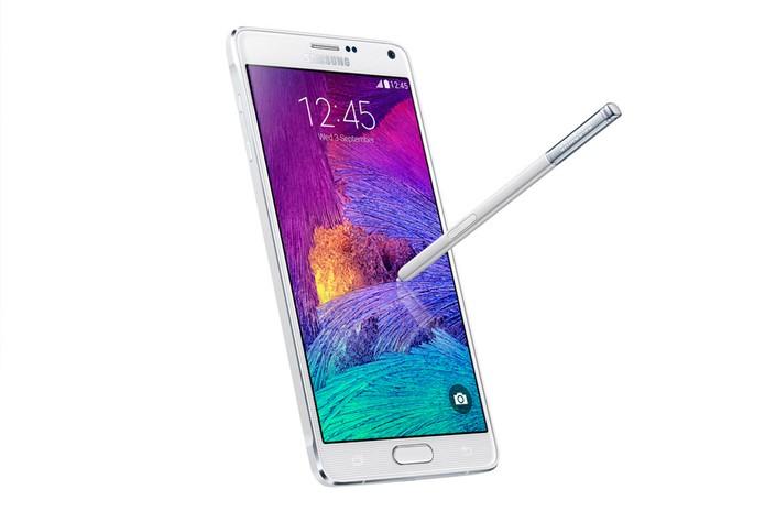 Galaxy Note 4 tem tela QHD e funcionalidades especiais para caneta S Pen (Foto: Divulgação/Samsung)