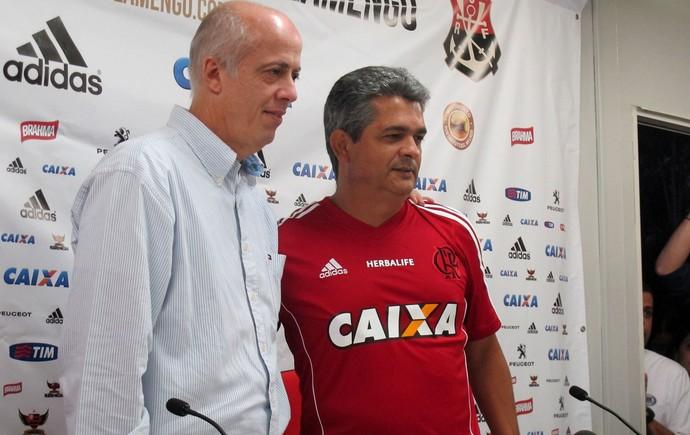 Ney Franco Coletiva Flamengo (Foto: Thales Soares)