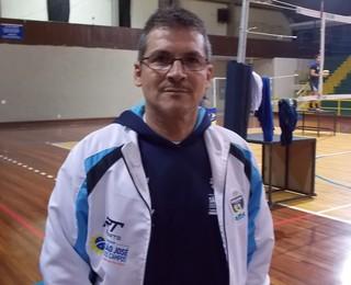 Fernando Basílio Supervisor São José Vôlei (Foto: Felipe Kyoshy/GloboEsporte.com)