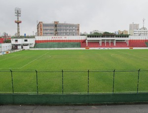 Estádio é casa da Portuguesa Santista (Foto: Bruno Gutierrez / Globoesporte.com)