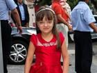 Rafaella Justus rouba cena em festa infantil na tarde deste sábado