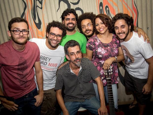 Banda Gato Zarolho (Foto: Jonathan Lins/G1)