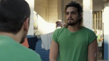 Lázaro encontra um talento na prisão