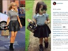 Paris Hilton publica foto de menina de 2 anos que copia estilo de famosas