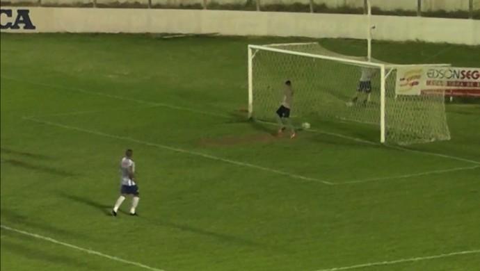 Inter-PB, Internacional-PB, goleiro, Alyson (Foto: Reprodução / TV Paraíba)