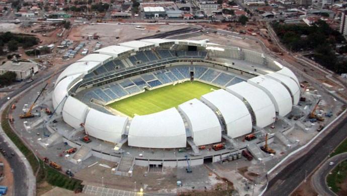 Obra da Arena das Dunas está 100% concluída (Foto: Canindé Soares)