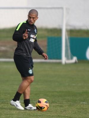 Alex Coritiba treino (Foto: Divulgação / Site oficial do Coritiba)