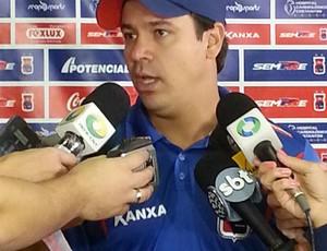 Dado Cavalcanti técnico Paraná clube (Foto: Jairton Conceição/RPC TV)