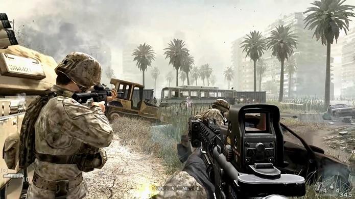 Call of Duty 4: Modern Warfare foi aclamado como uma revolução nos FPSs (Foto: Divulgação/Activision)