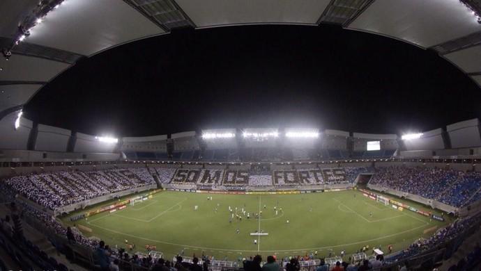 Mosaico ABC - Arena das Dunas (Foto: Canindé Soares)