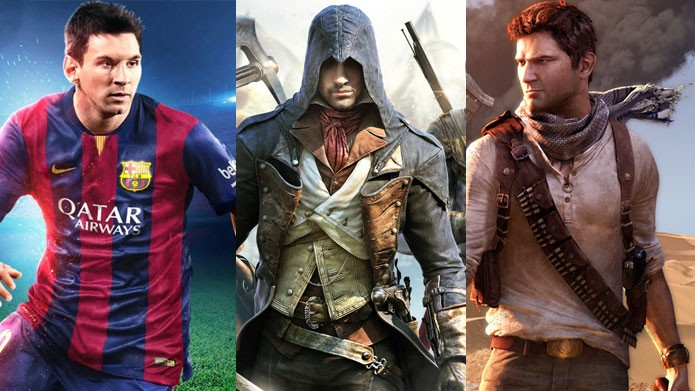 FIFA 15, Assassins Creed e Uncharted nas ofertas da semana (Foto: Divulgação)