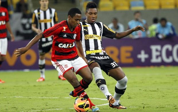 Elias Flamengo x Botafogo (Foto: Cezar Loureiro / Agência o Globo)