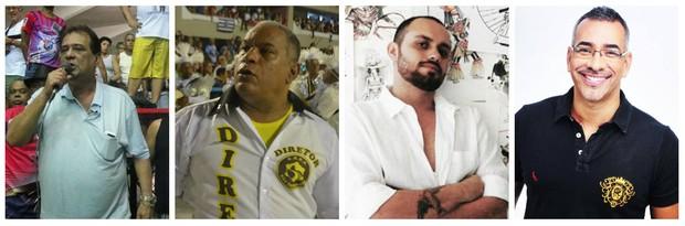Ney Filardi, Renato Gomes, Leandro Vieira e Cahê Rodrigues (Foto: Reprodução/Reprodução)