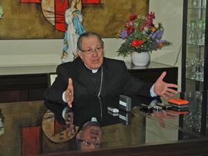 Bispo Dom Luiz Gonzaga (Foto: Antony Nelson/Futura Press)