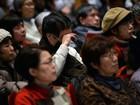 Japoneses fazem ato contra ausência de penas pelo desastre de Fukushima