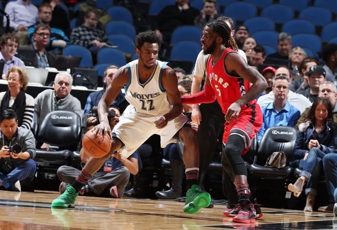Minnesota Timberwolves vs Toronto Raptors NBA (Foto: Divulgação/Timberwolves)