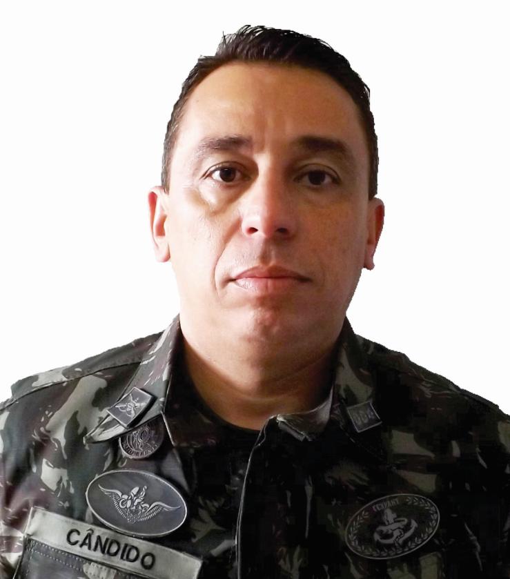 Tenente-coronel Cândido Renato Carolino Rodrigues, subcomandante do 71º Batalhão de Infantaria Motorizado (BIMtz) (Foto: Divulgação/ 71º BIMtz)