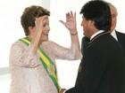 Dilma participa nesta quinta da posse de Evo Morales, na Bolívia