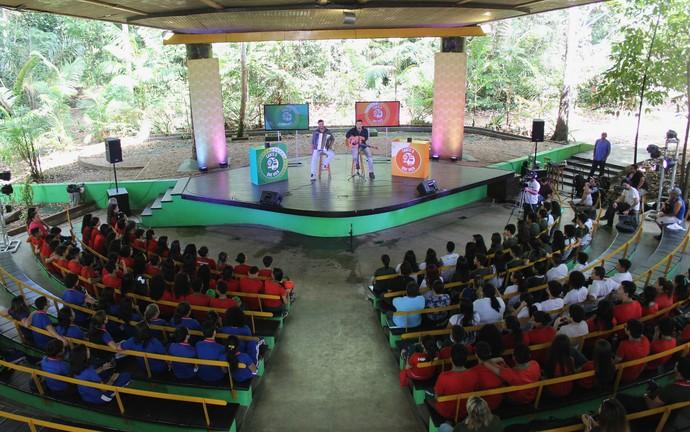 'Cante o que vier' estreia com som de Márcio Cigano (Foto: Katiúscia Monteiro/ Rede Amazônica)