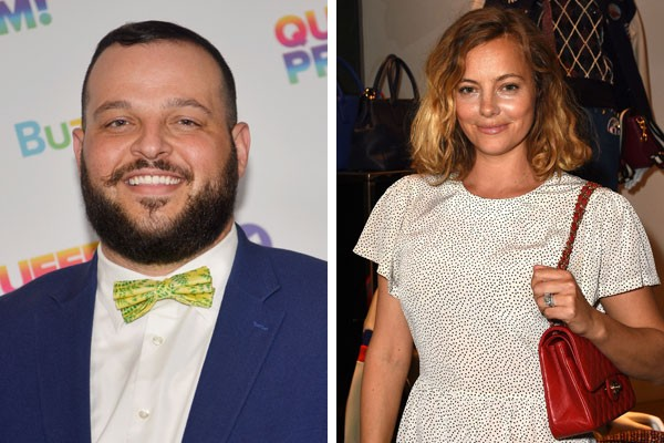 O ator Daniel Franzese e a atriz Bijou Phillips (Foto: Getty Images)