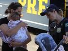 Polícia fiscaliza uso da cadeirinha na semana de volta às aulas no Paraná