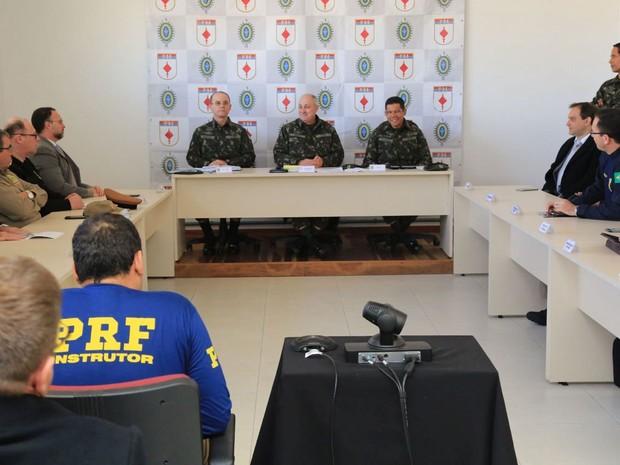 Detalhes da operação foram divulgados nesta segunda-feira (13) (Foto: Divulgação/Exército)