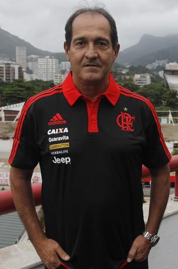 apresentação de muricy flamengo (Foto: Foto: Gilvan de Souza / Flamengo)