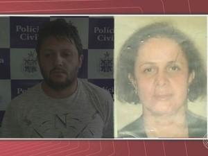 Pais foram presos suspeitos de agressão contra bebê na Bahia (Foto: Reprodução/TV Santa Cruz)