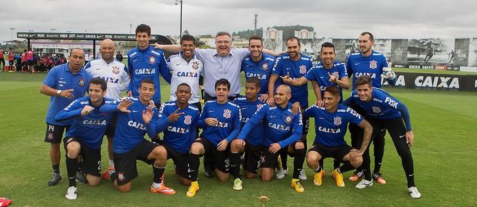 Treino Corinthians (Foto: Daniel Augusto Jr / Agência Corinthians)