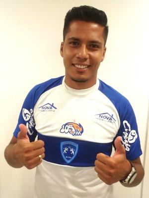 Atacante Danilo Ramos deve se juntar ao grupo nesta segunda-feira (Foto: Osvaldo Cruz / Divulgação)