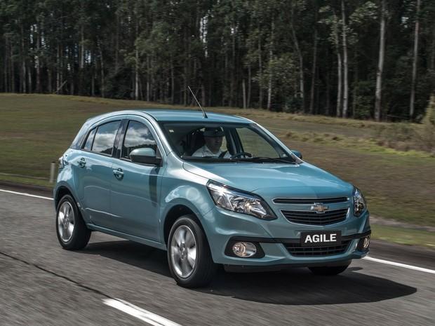 Blog do Largartixa  Chevrolet Agile 2014 passa por reestilização e tem novo  câmbio 2035a35c30f84
