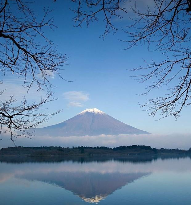O Monte Fuji é a mais alta montanha da ilha de Honshu e de todo o arquipélago japonês (Foto: O Monte Fuji é a mais alta montanha da ilha de Honshu e de todo o arquipélago japonês)