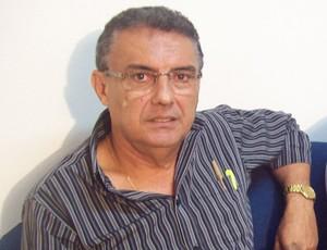 Evandro Marques, diretor da Federação Maranhense de Futebol (Foto: João Ricardo/Globoesporte.com)