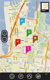 Bingle Maps oferece rotas e distâncias a partir de pontos definidos pelo usuário. (Foto: Reprodução)